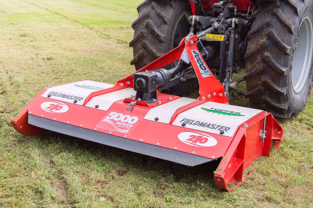 Picture of TM Twin Belt Drive Pasture Toppers